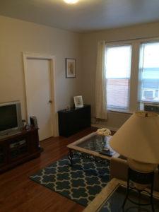 Astoria Two Bedroom 27th Street Living Room